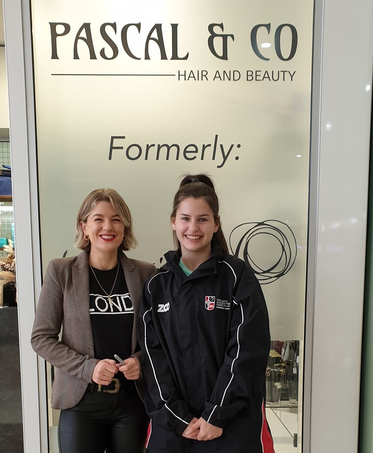 OLSCC Kasey Taylor with Ruth McGovern of Pascal and Co